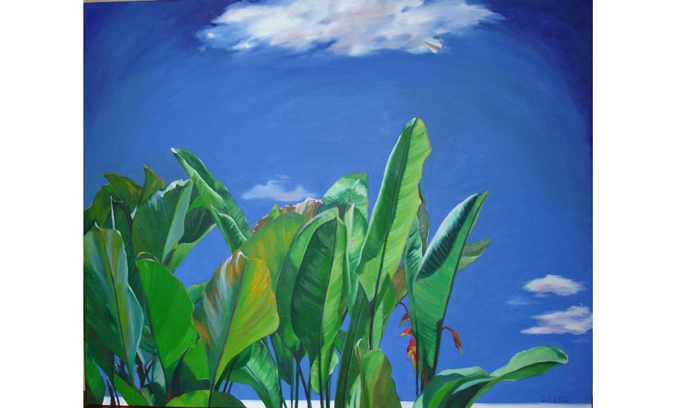 油畫, 150 x 120cm